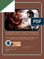CONTRADICŢII BIBLICE TEEMELII DUHOVNICEŞTI