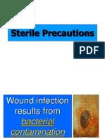 Sterile Precautions - Dr Imran