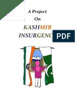 Kashmir Insurgency - Hard Copy