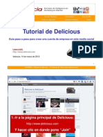 Tutorial de Delicious de Latencia SL