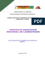 Proyecto Educativo Regional Lambayeque