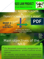 Presentation for NRTJ Audit Briefs