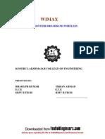 Wimax the Next Frontier Broadband Wireless