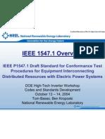 IEEE 1547 Parameters