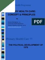 Phc Concept & Principles