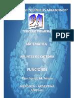 84129090 Quimicos Argentinos 2012 Cuadernillo Nro 1 FUNCIONES