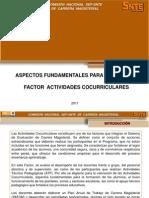 Aspectos Fund Amen Tales Para Evaluar El Factor Actividades Cocurriculares
