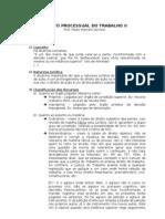 Direito Processual Do Trabalho II