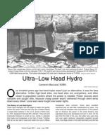 Low-Head Hydro Power