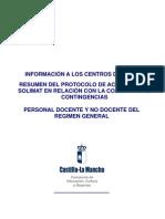 Resumen Protocolo Solimat Centros Docentes