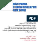 Suriye Kıyamına karşı Duran Hizbullah'ın Nifak öyküsü-ubeydullah arslan