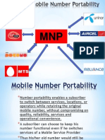 Mobile number Portiblity