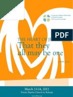 2012 CBFNC Program Book