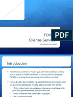 FORMS Cliente Servidor