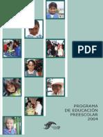 Programa PREESCOLAR 2004