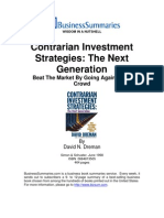 [David Dreman] Contrarian Investment Strategies - org