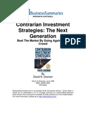 David dreman contrarian investment strategies pdf printer sig asian investment bank
