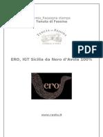 PRESS Nero d'Avola 100% ERO _ Tenuta Di Fessina