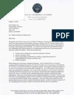 Stan Garnett Letter to US Attorney John Walsh