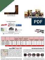 DWB 2012 Summary Report