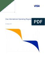 Visa International Operating Regulations Oct 2011