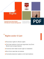 Moral Rights IP Fordham Law