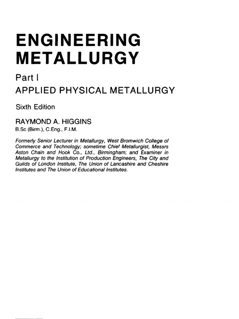 Applied physical metallurgy sixth edition ion chemical substances fandeluxe Choice Image