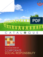 Corporate Social Responsibility Case Studies Catalogues