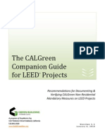 Calgreen Companion Guide for Leed v 1 1