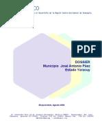 Dossier Municipio Jose a. Paez