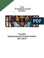 Sfsac Survey 2011-2012