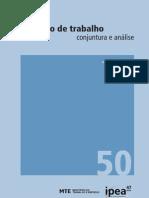Boletim Mercado de Trabalho n 50_completo Ipea Mte