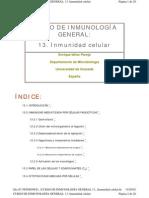 13. Inmunidad celular
