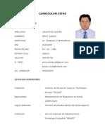 Curriculum Vitae Junior