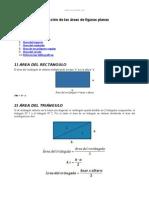 Deduccion Formulas Calcular Area Figuras Planas