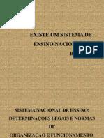 Apresentacao Sistema Nacional de Ensino