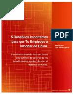 5 Beneficios Import Antes Para Que Tu Empieces a Importar de China