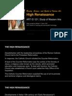 ARTID121 - 09 High Renaissance