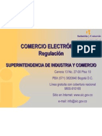 Regulación de Comercio Electrónico