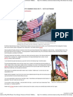 American Flag With Obama's Face Enrages Veterans in Florida