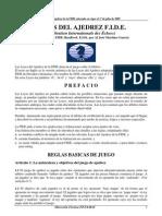 Leyes Del Ajedrez Fide 2009