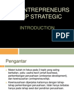 Entrepreneurship Strategic Pengantar