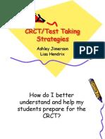 Crct Test Taking Strategies