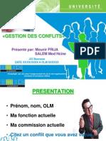 Gestion Des Conflits - JCI Bennane
