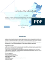China Bean Products Mfg. Industry Profile Cic1392