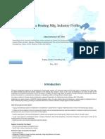 China Bearing Mfg. Industry Profile Cic3551