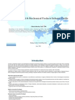 China Biological Biochemical Products Industry Profile Cic2760
