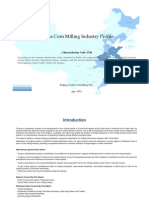 China Corn Milling Industry Profile Cic1310