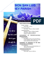 Mission San Luis Rey Parish Bulletin for 3-18-2012