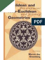 Euclidean & Non-Euclidean Geometries. Development and History